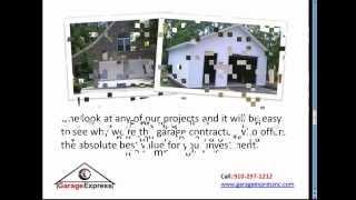 Garage Express : Garage Builders Contractors