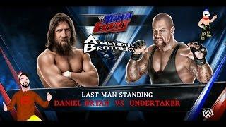 PS4 - WWE 2K15 : Daniel Bryan VS Undertaker [Gameplay Ita]