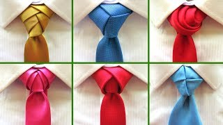 8 Best tie knots for Wedding and Festive events . How to tie a necktie