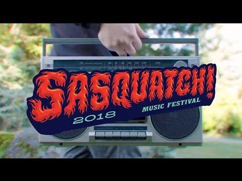 Sasquatch! Music Festival 2018 Lineup Announcement Video