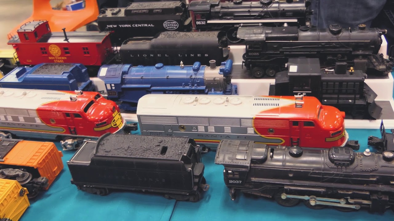 Woodstock Model Train Show January 14th 2018 Ontario Collector Shows