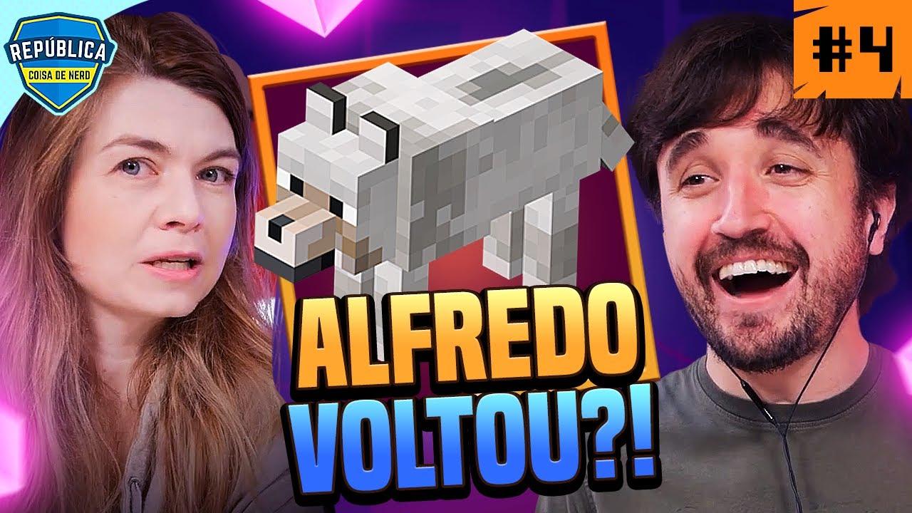 ALFREDO ESTÁ DE VOLTA?! - MINECRAFT DUNGEONS #4