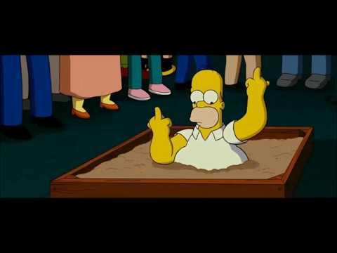 Средний палец в кино