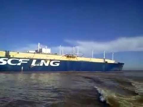 LNG GAS CARRIER SCF ARTICK 29 JUNE 2014  1304 hs