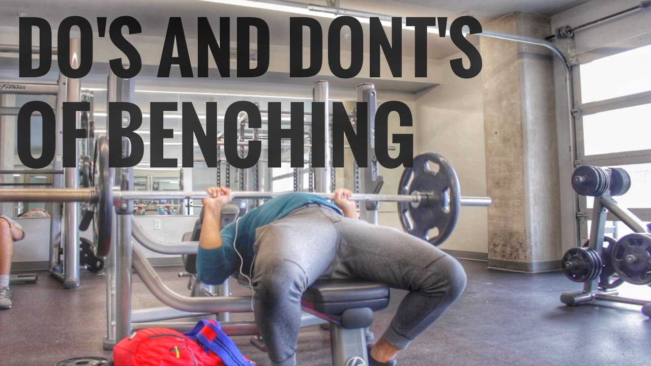 How To Bench Press Benching For Beginners Youtube
