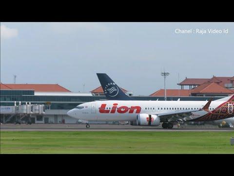 Plane Spotting at Ngurah Rai Airport Bali Indonesia