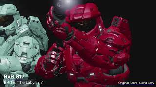 """Red vs Blue S17   EP 10 - """"The Labyrinth""""    David Levy"""