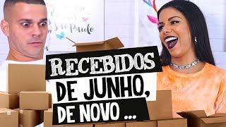 RECEBIDOS DE NOVO!!!!