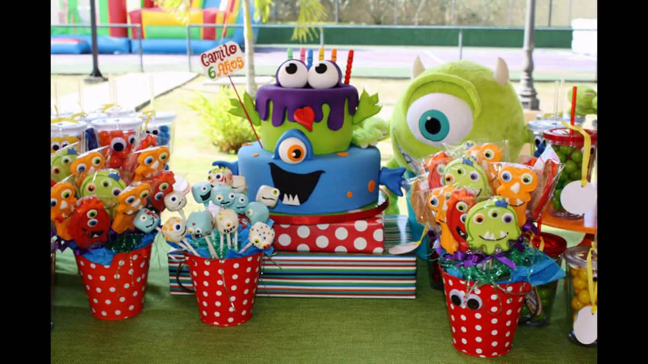 Amazing Monster Birthday Party Decorations Ideas Youtube