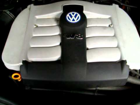 2003 vw passat w8 engine noise youtube. Black Bedroom Furniture Sets. Home Design Ideas