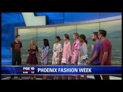 Misha Mendicino - 2014 Phoenix Fashion Week Fox 10 Arizona
