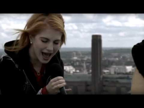 Paramore singing Decode Acoustic!