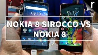 Nokia 8 Sirocco vs Original Nokia 8: What