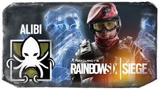 ОТКРЫЛ АЛИБИ! ДВОЙНИК ОБМАНУЛ ВРАГОВ ● Rainbow Six Siege