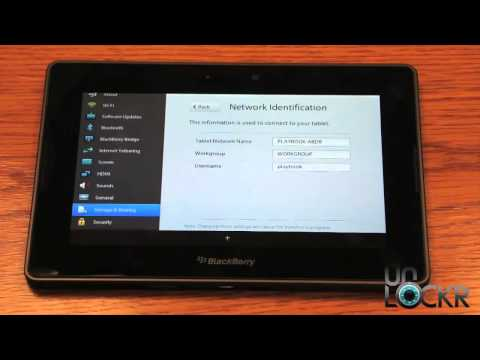 How To: Use Wifi Sharing on the Blackberry Playbook to Transfer Files