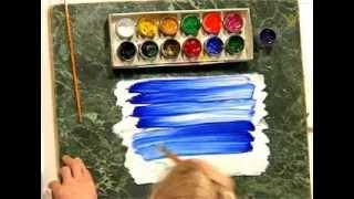5 Пять минут - и ты художник! Нарисовать небо (1)(5 Пять минут - и ты художник! Урок первый: Рисуем небо. Вы хотели научиться рисовать, но не знаете с чего начат..., 2012-04-23T09:55:20.000Z)