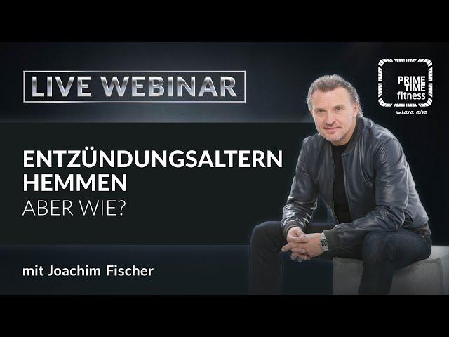 Entzündungsaltern hemmen - aber wie? im Gespräch mit Joachim Fischer