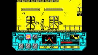 'Total Recall' Playable scrapped ZX Spectrum version