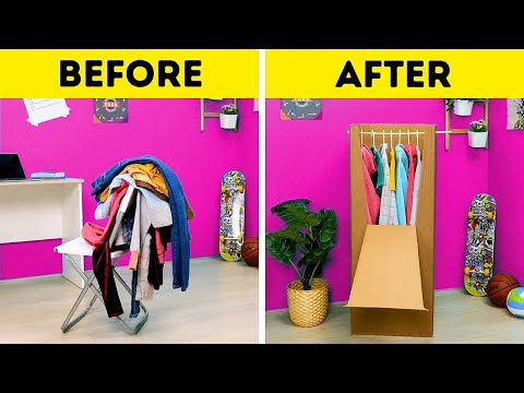 40 USEFUL MOVING TIPS || Smart Ways to Organize Your Stuff by 5-Minute Decor!