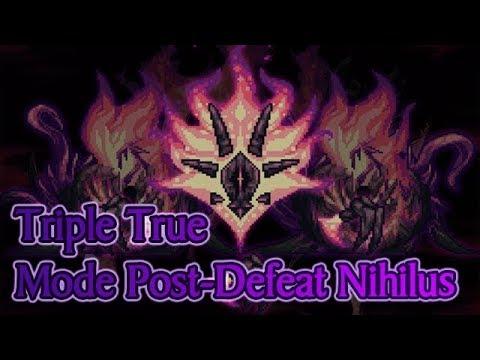 Triple True Mode Post-Defeat Nihilus | Shadows of Abaddon Mod Terraria