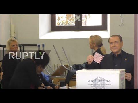 Italy: Berlusconi votes in critical constitutional reform ...