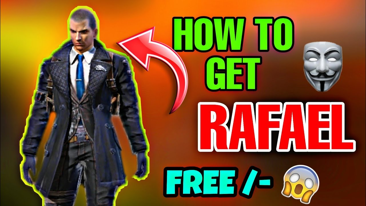 How To Get New Character Rafael Free New Character In Garena Free Fire
