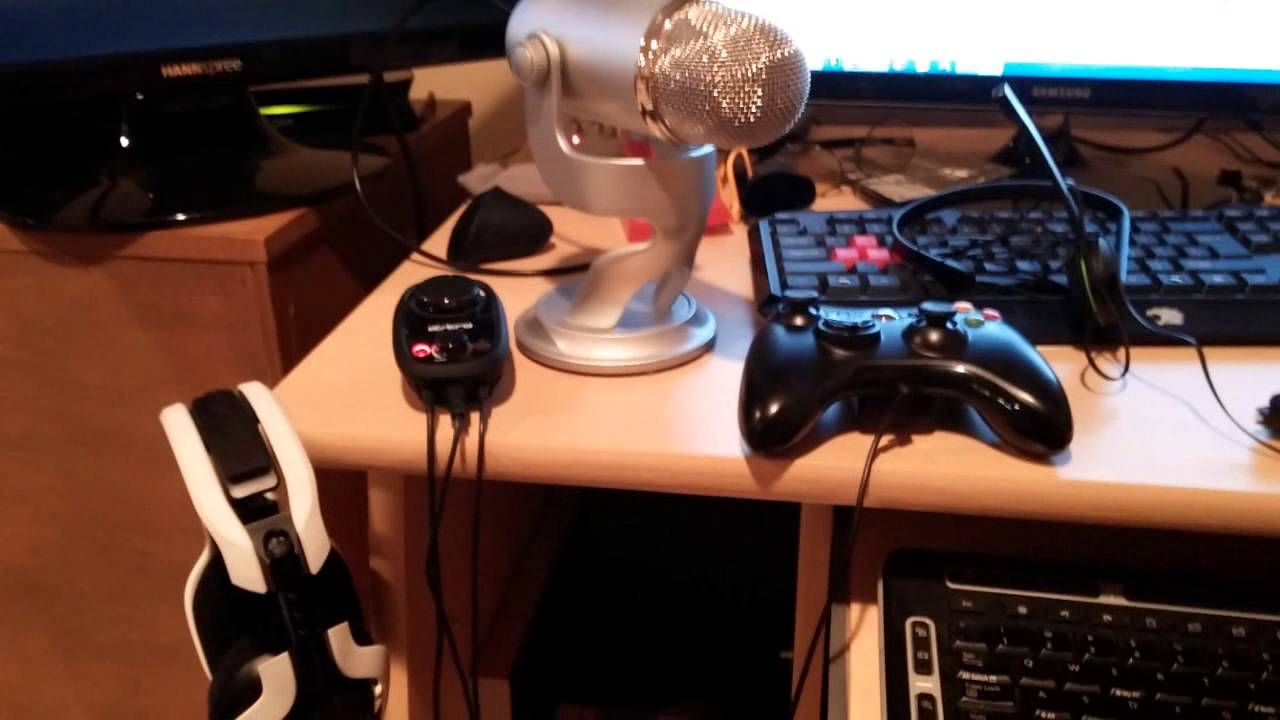 How To Setup Astro Headset On The Xbox One Astro A40 A50