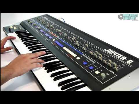 Roland Jupiter-6 Vintage Analog Synthesizer (Part 2)