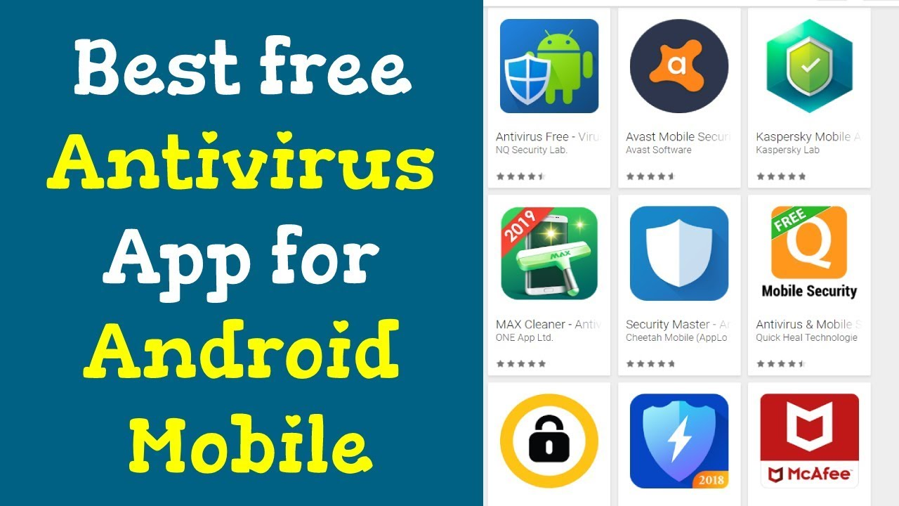 Best free antivirus app for android mobile 2018