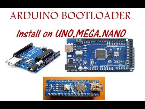 Arduino Install Bootloader on UNO, MEGA, NANO