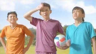 Iklan Segar Sari Frenta Rasa Pelangi - Imaginasi Main Bola 30sec (2017)