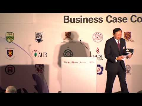 2017 HSBC/HKU Asia Pacific Business Case Competition Cocktail-cum-award Ceremony