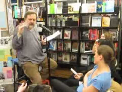 Slavoj Žižek thoughts on Occupy Wall St at St. Mark's Bookshop Oct 26 2011