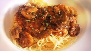 Chicken Marsala / Classic Italian American Recipe For Pasta