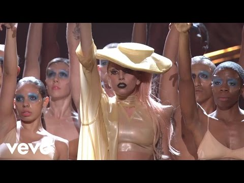 lady gaga at the grammy award 2011