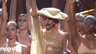Repeat youtube video Lady Gaga - Born This Way (GRAMMYs on CBS)