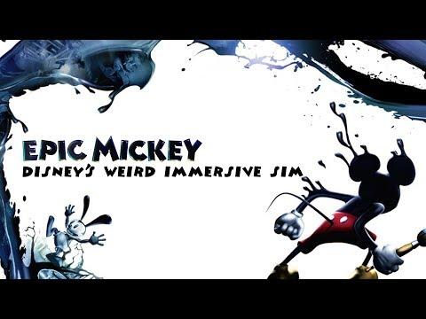 Epic Mickey - Disney's Weird Immersive Sim