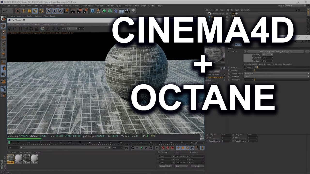 How to use Poliigon Textures in Cinema 4D | Poliigon Help Center