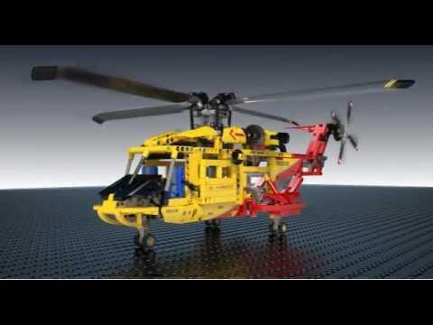Elicottero di Salvataggio - LEGO 9396