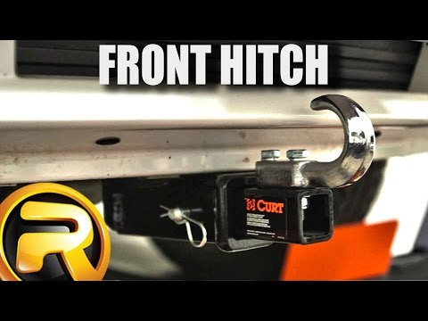 How to Install Curt Front Mount Receiver Hitch