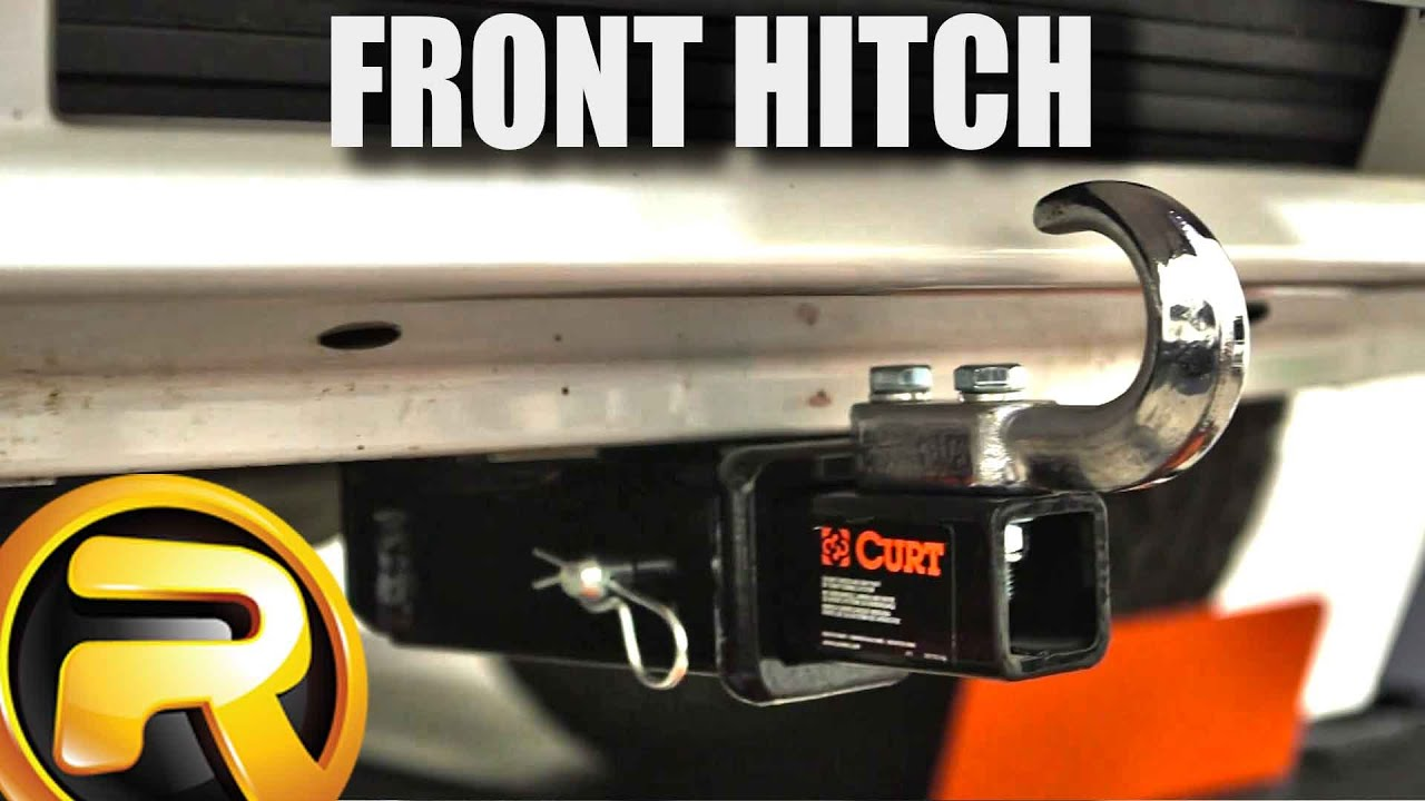 how to install curt front mount receiver hitch [ 1280 x 720 Pixel ]