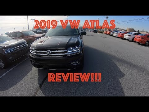 2019 Volkswagen Atlas TEST DRIVE AND REVIEW!