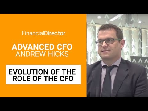 CFO Of Advanced, Andrew Hicks, On The Evolution Of The CFO Role