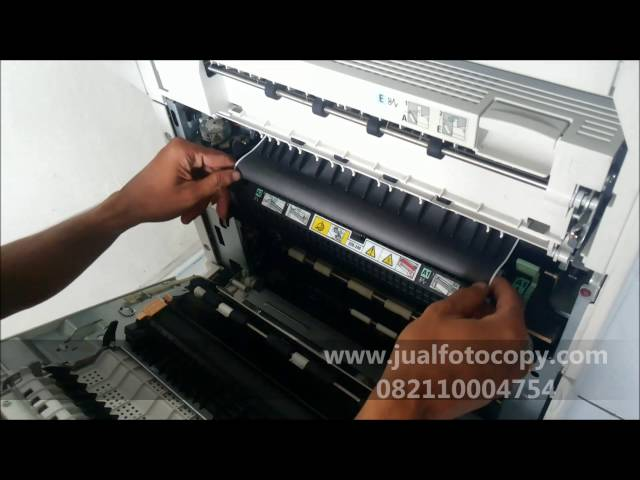 Cara mengatasi paper jam di A1 pada mesin fotocopy xerox