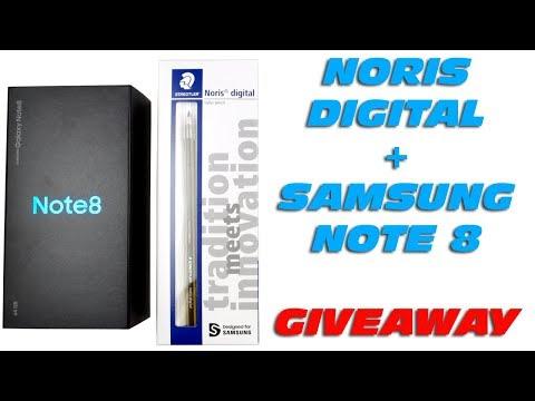STAEDTLER Noris digital & Samsung Galaxy Note 8 - Unboxing, Kurzreview & Giveaway