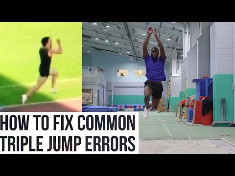 How to fix common triple jump errors