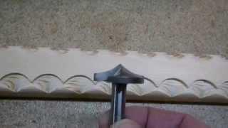 Нанесение декора на изделия из дерева. Часть 1. Milling decorating the tree. Part 1.