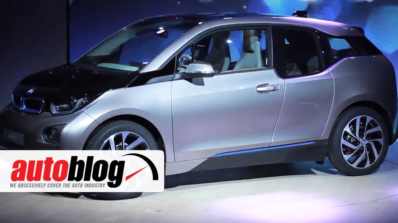Bmw I3 Electric Car World Premiere Autoblog Youtube