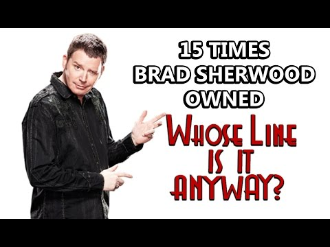 """15 Times Brad Sherwood Owned """"Whose Line Is It, Anyway?"""""""