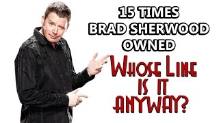 "15 Times Brad Sherwood Owned ""Whose Line Is It, Anyway?"""